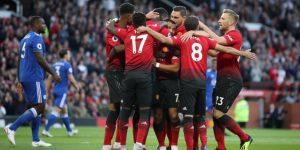 Manchester United debuta con un ajustado triunfo sobre Leicester