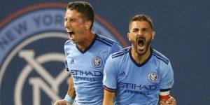 2-0. Villa marca y el New York City FC califica a playoffs en el Este