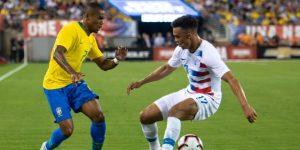 0-2. Nueva exhibición de Brasil ante EE.UU. con goles de Firmino y Neymar