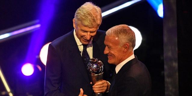 Didier Deschamps se lleva el The Best a mejor entrenador
