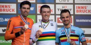 CICLISMO: Rohan Dennis arrolla en la crono y arrebata el arcoíris a Dumoulin, plata
