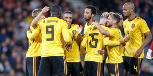 0-4. Bélgica mantiene su idilio con el buen fútbol