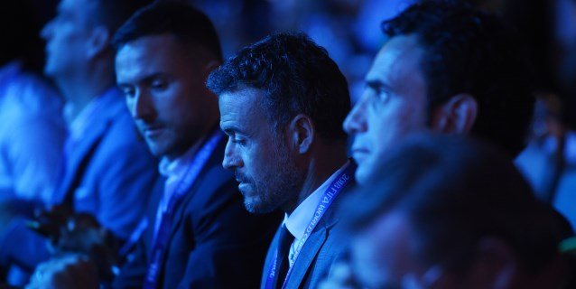 Luis Enrique, presente en la conferencia de entrenadores de la FIFA