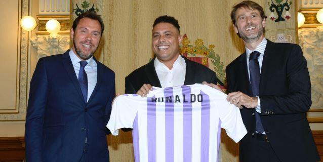 Ronaldo compra el 51 % de las acciones de Suárez y ya manda en el Valladolid