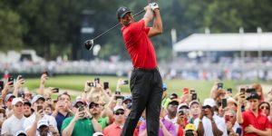Tiger Woods vuelve a ganar un título en el Tour Championship, más de cinco años después