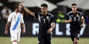 3-0. Con gol de Simeone, Argentina derrotó a Guatemala en Los Ángeles