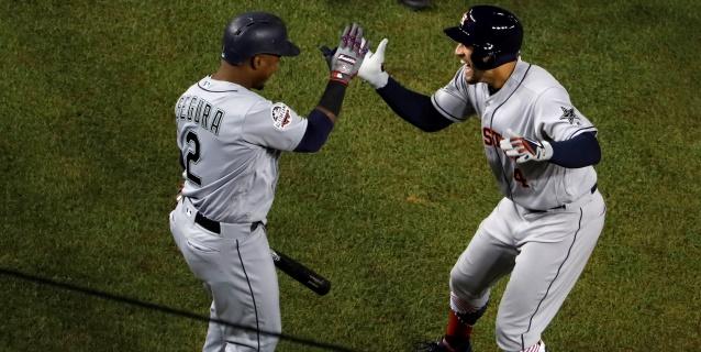 Astros aseguran el pase a pos playoffs; Medias Rojas igualan una marca histórica