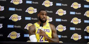 """LeBron James: """"Tenemos mucho que recorrer para alcanzar a los Warriors"""""""
