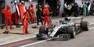"""Lewis Hamilton: """"No me esperaba ganar"""""""