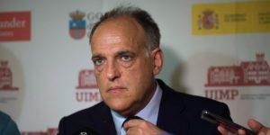"""Tebas: No urge """"ninguna decisión"""" de la FIFA sobre los partidos de LaLiga en EE.UU."""