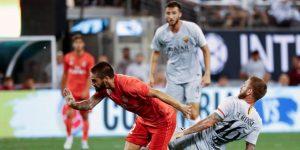 De Rossi, Dzeko y Kolarov ya saben lo que es marcar en el Bernabéu