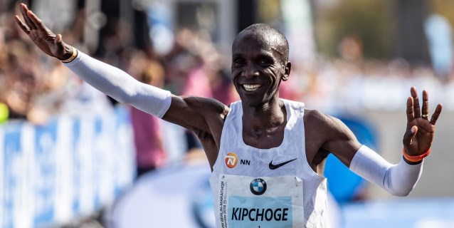 """Eliud Kipchoge: """"Supe que podía hacer el récord después de los 30 kilómetros"""""""