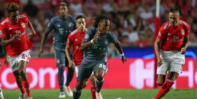 0-2. El Bayern vence al Benfica y Renato Sanches resurge en Lisboa