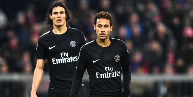 Neymar y Cavani dirigen al PSG hacia el terreno de los récords