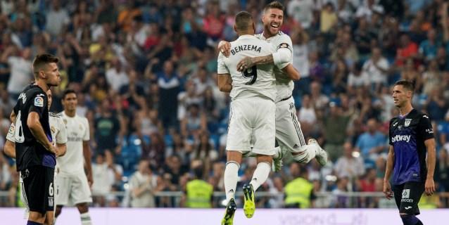 4-1. Benzema libera su cara goleadora