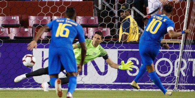 5-0. Neymar, Coutinho y Richarlison destrozan a la selección salvadoreña