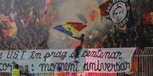 La UEFA abre expediente por incidentes en el partido Rumanía-Serbia