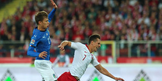 0-1. Biraghi acaba en el minuto 92 con la sequía de victorias de Italia