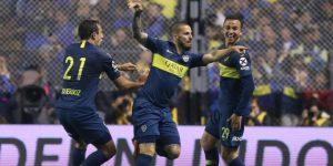 2-0. Boca Juniors logra una buena ventaja ante el Palmeiras con un doblete de Benedetto