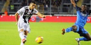 Cristiano rescata al Juventus con un doblete en Empoli (1-2)