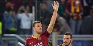 5-0. Un triplete de Dzeko impulsa el primer triunfo del Roma