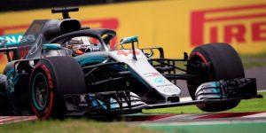 F1: Hamilton se divierte asustando a Vettel en Japón