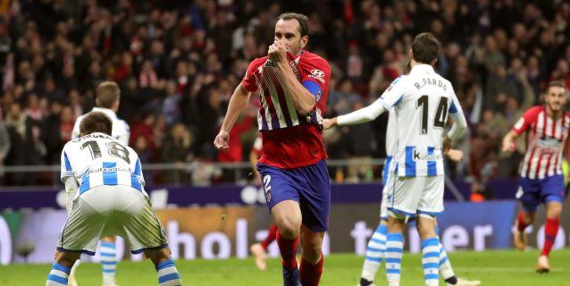 2-0. El Atlético descarta la crisis y se aúpa al liderato