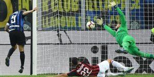 Icardi da al Inter el derbi de Milán en el minuto 92