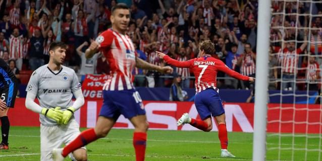 3-1. El Atlético insiste, Griezmann decide