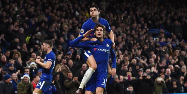 Morata y Barkley aupan al invicto Chelsea