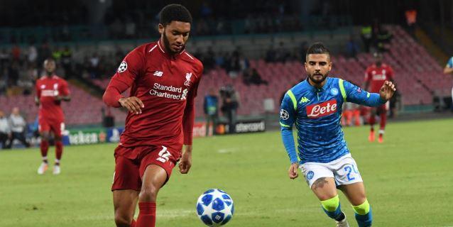 1-0. Insigne castiga la pasividad del Liverpool y relanza al Nápoles