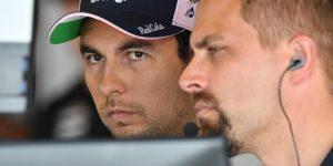 F1: Sergio Pérez amplía su contrato con Force India y seguirá en 2019