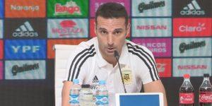 Scaloni echará mano de jugadores jóvenes y novatos para enfrentar a Brasil