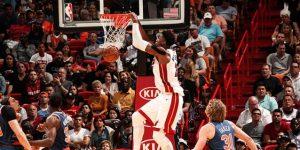 NBA: 110-87. Whiteside y los Heat superan a los Knicks