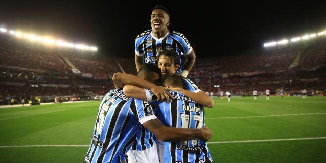 0-1. Gremio consigue un valioso triunfo ante River Plate gracias a Michel