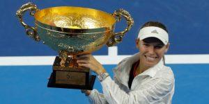 TENIS: Wozniacki vence a Sevastova y gana el Open de China ocho años después