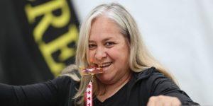 Judith Reitmann, la uruguaya que conquista el mundo con las pesas