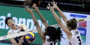 VOLEIBOL: China domina a Estados Unidos (3-2) y se acerca a las semifinales