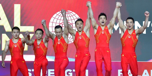GIMNASIA: China recupera el trono de la gimnasia masculina