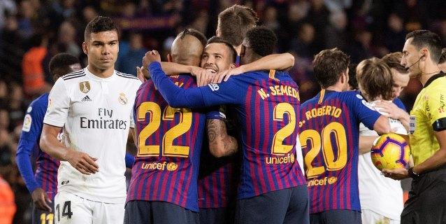 El Barça vapulea al Madrid y firma la sentencia de Lopetegui