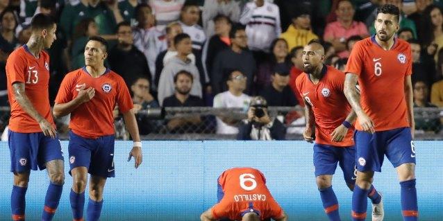 0-1. Chile vence a México con gol de última hora de Nicolás Castillo