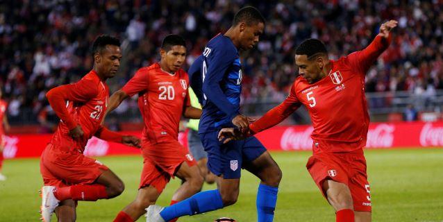 1-1. Estados Unidos y Perú, con poca inspiración, no pasan del empate