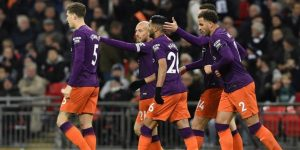 0-1. El Manchester City encuentra brotes verdes en Wembley