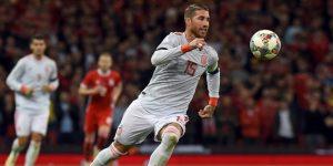 Ramos, el defensa goleador, ya es el decimoséptimo jugador con más tantos