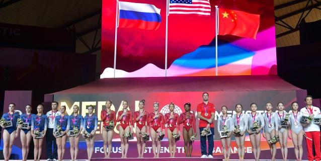 GIMNASIA: Estados Unidos, con Biles al frente, logra el oro femenino por equipos