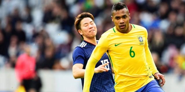 Alex Sandro y Renato Augusto sustituyen a Marcelo y Coutinho en Brasil