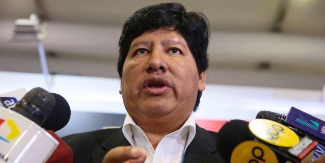 El presidente de la Federación Peruana confía en que el juez no lo envíe a prisión