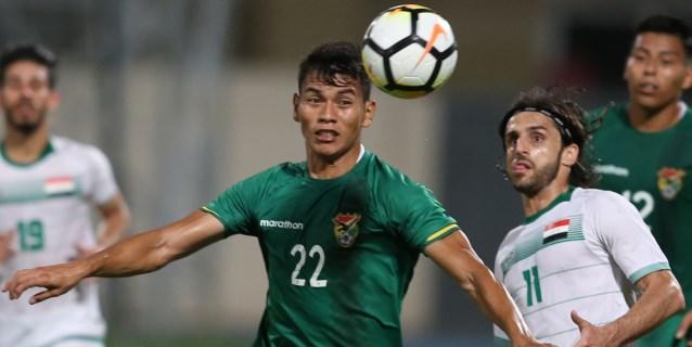 0-0. Bolivia empata ante Irak en un duelo sin profundidad ni emociones
