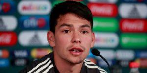 El delantero Hirving Lozano es baja de la selección mexicana para amistosos