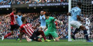 El City golea al Southampton y se queda solo en el liderato de la Premier